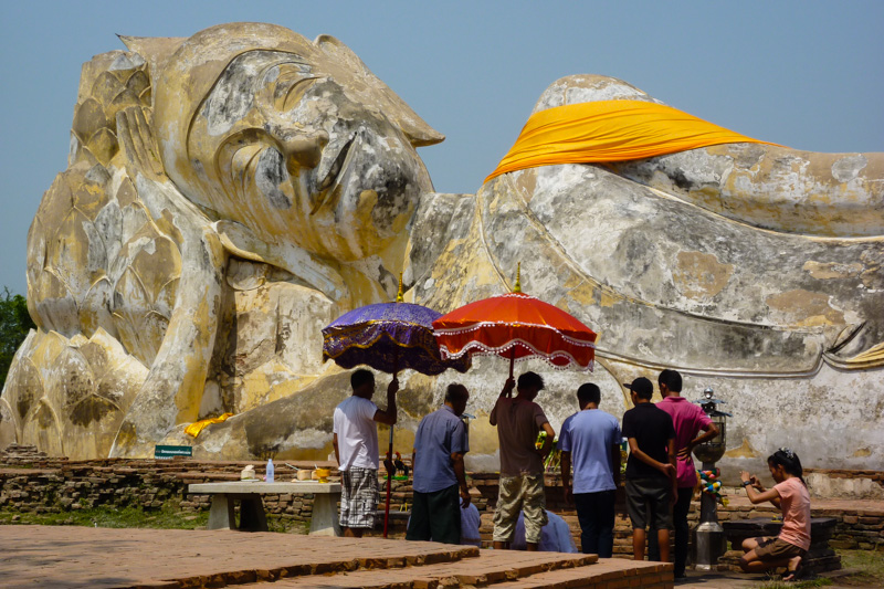 Buddha in Ayutthaya, Thailand