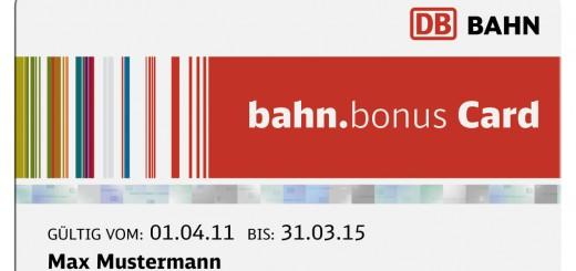 Bahn.Bonus Card. Foto: Deutsche Bahn AG