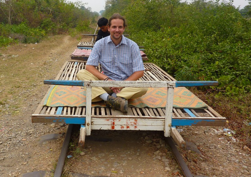 Bamboo Train in Battambang