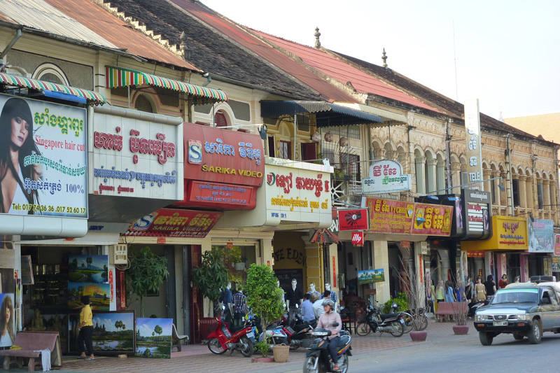 Streetlife in Battambang