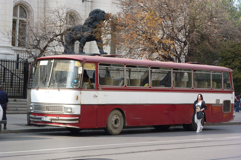 Bus in Sofia, Bulgarien