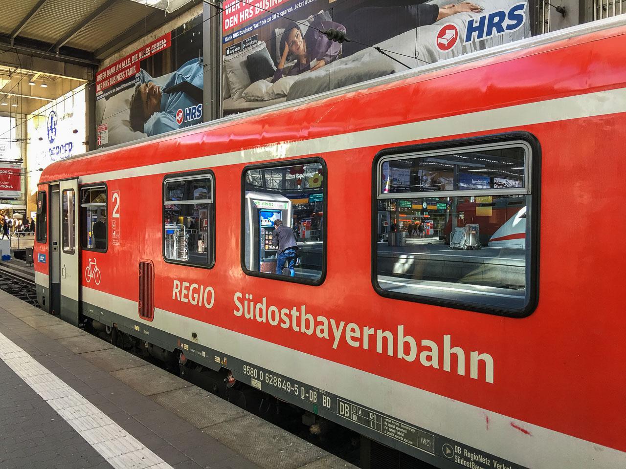 Zugverbindung Deutschland