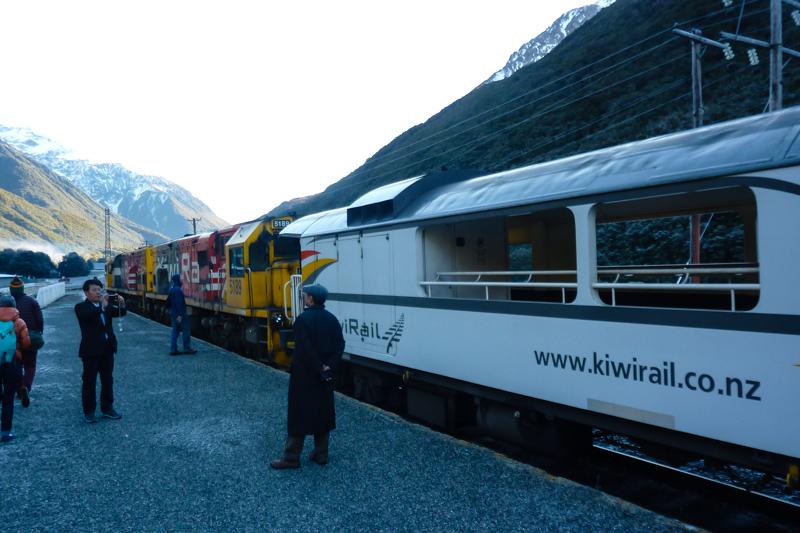 Aussichtswagen Tranz Alpine