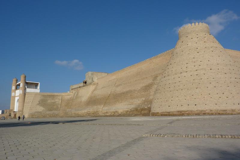Zitadelle Ark in Buchara.