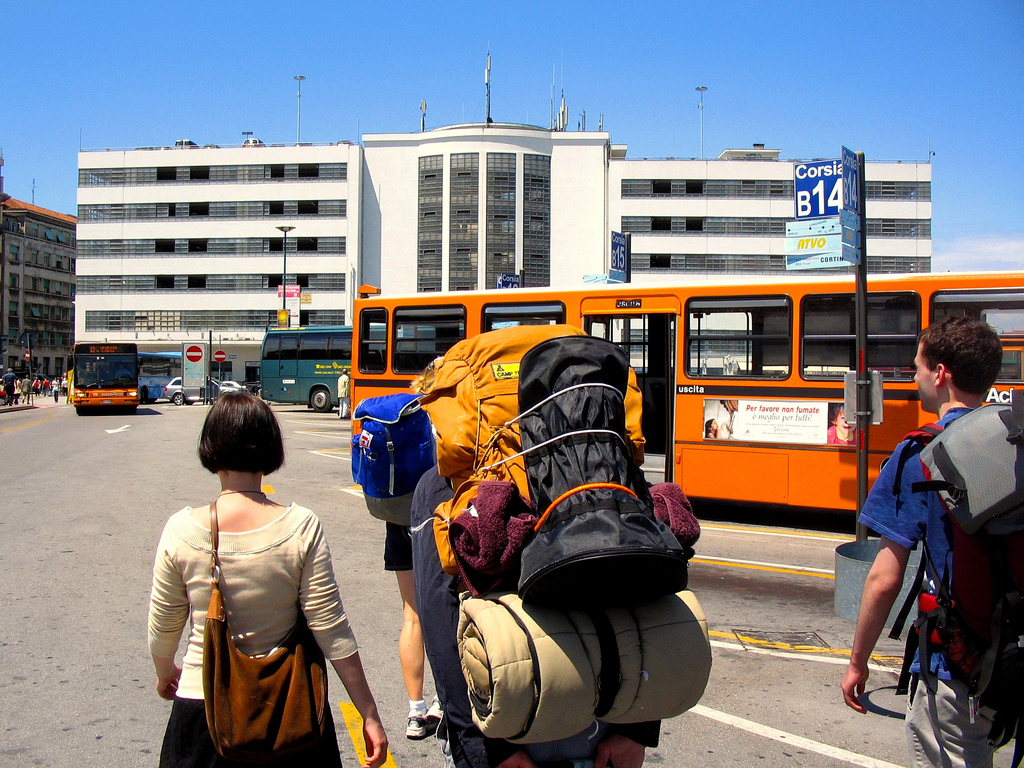 Interrail Packlste: Mit dem Rucksack durch Italien. Foto: Keith Parker, CC-BY-2.0
