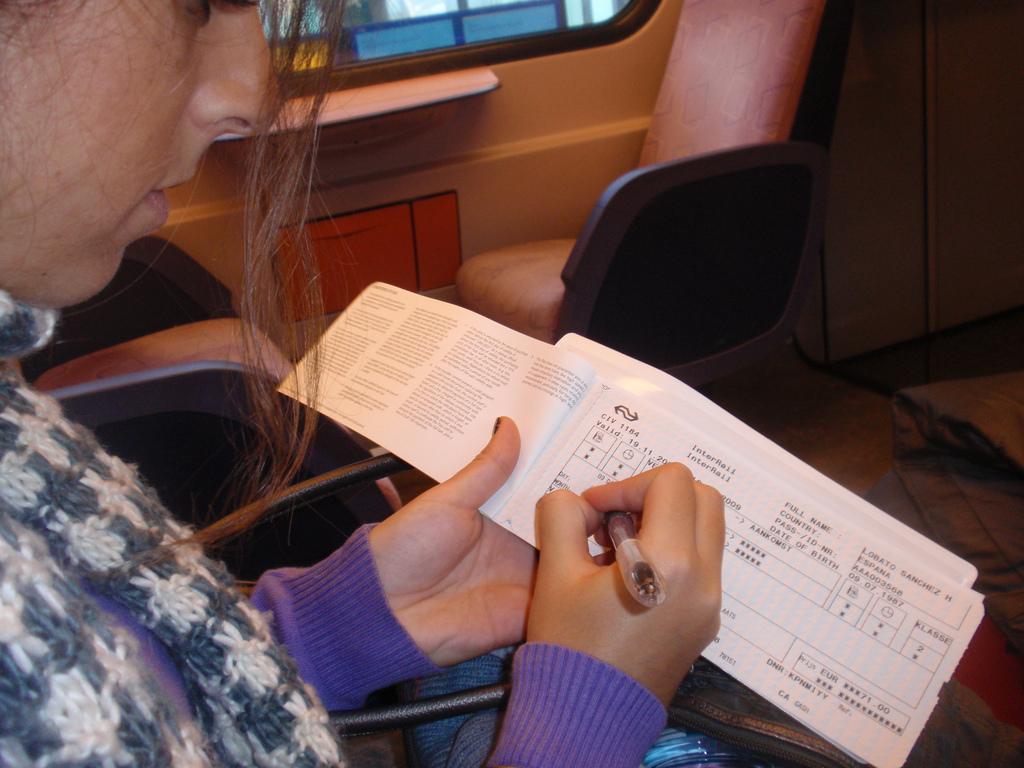 Interrail Ticket: Reisetage eintragen. Foto Hipólito Lobato CC-SA-2.0