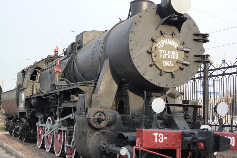 Taschkent, Usbekistan: Eisenbahn-Museum