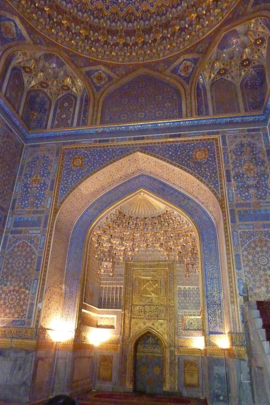 Usbekistan Reise: Mit dem Zug nach Samarkand