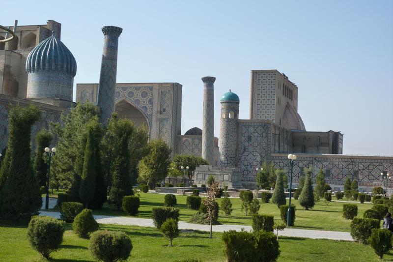 Registan in Samarkand, Usbekistan