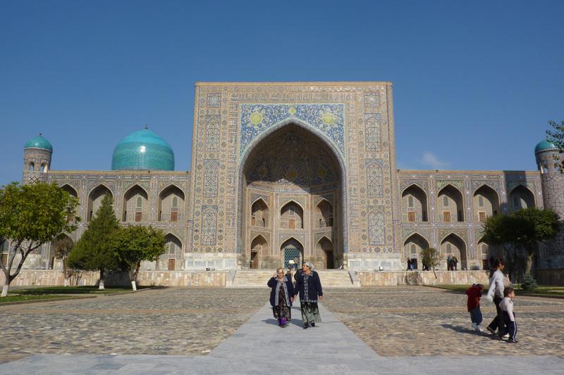 Usbekistan: Samarkand