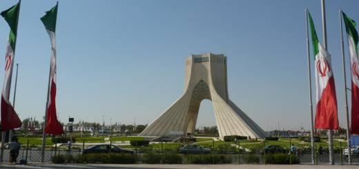 Asadi Monument in Teheran