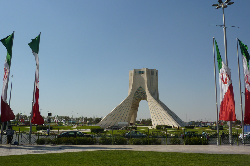 Asadi Monument in Teheran