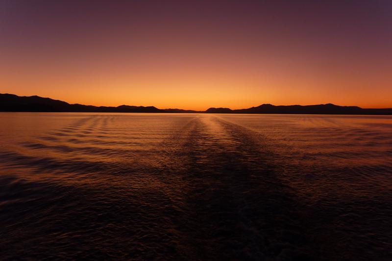 Sonnenuntergang Vansee