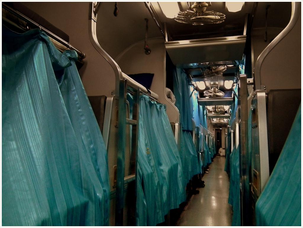 Thailand: Schlafwagen der zweiten Klasse