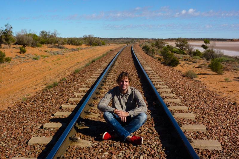 Ghan: Von Adelaide über Alice Springs nach Darwin.