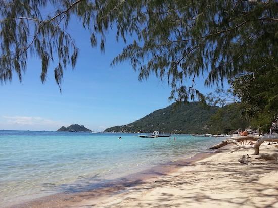 Koh Tao, Thailand. Sairee Beach.