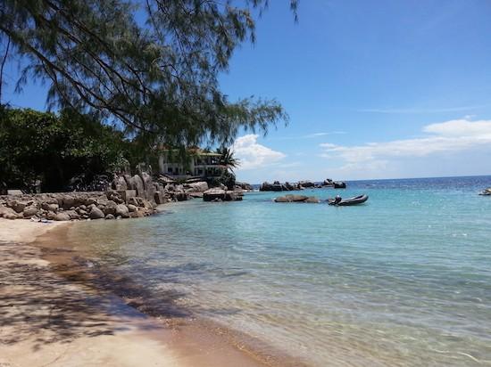 Thailand Inseln sind traumhaft schön. Hier der Sairee Beach auf Koh Tao