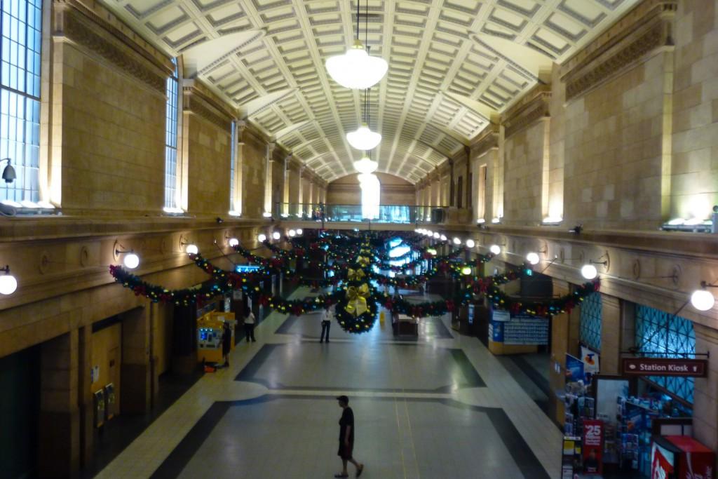 Adelaide Bahnhofshalle