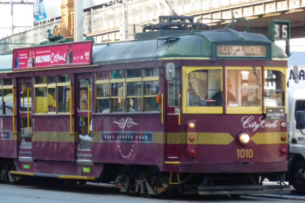 City Circle Tram in Melbourne, Australien