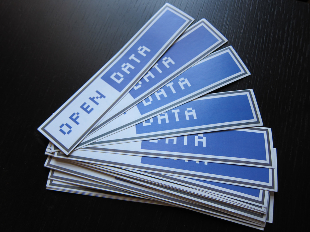 open data stickers photo