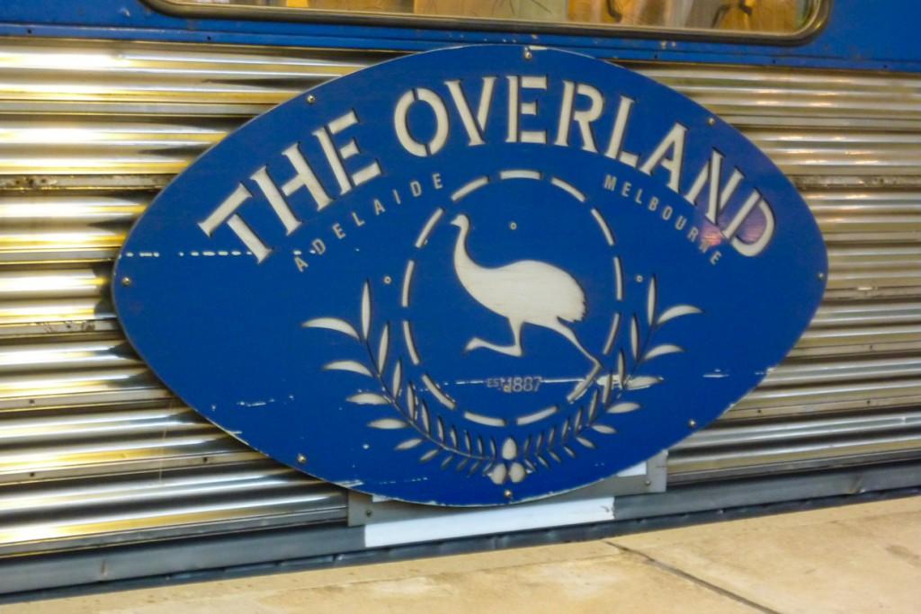 Overland: Zug von Melbourne nach AdelaideQ