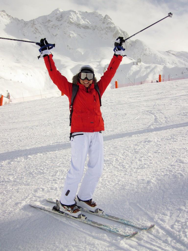 Pistenspass: Skifahren in den Österreich