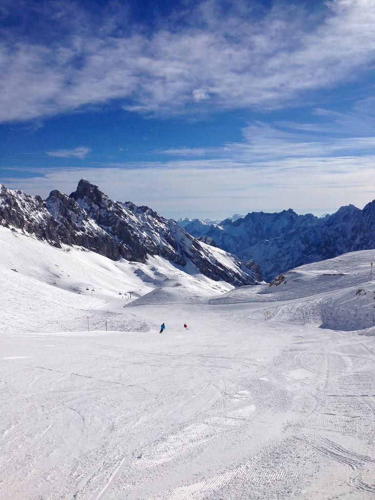 zugspitze ski photo