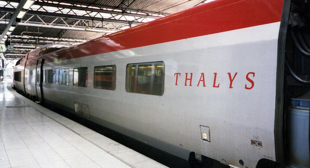 Thalys vor der Abfahrt