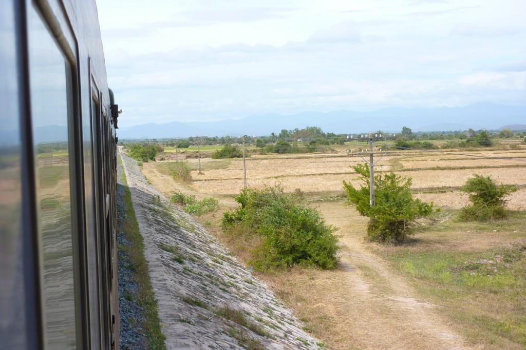 Im Zug durch Vietnam