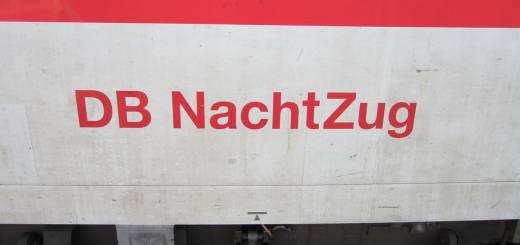 Nachtzug der Deutschen Bahn