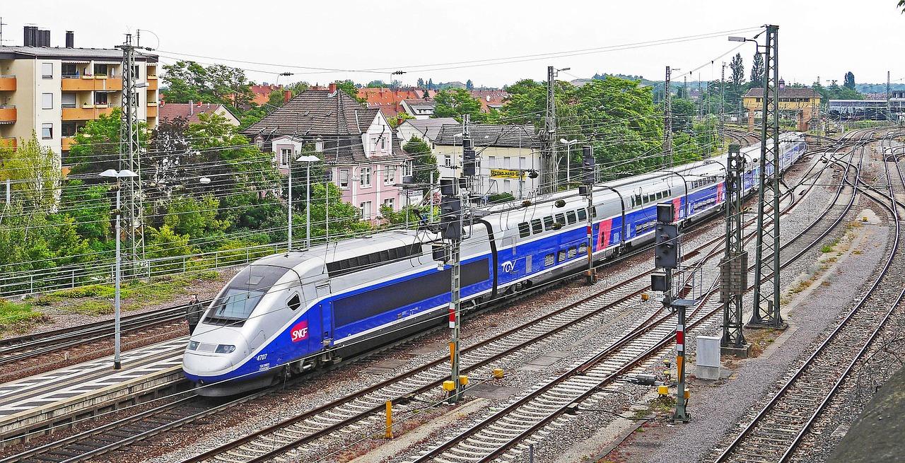 TGV Frankfurt Paris