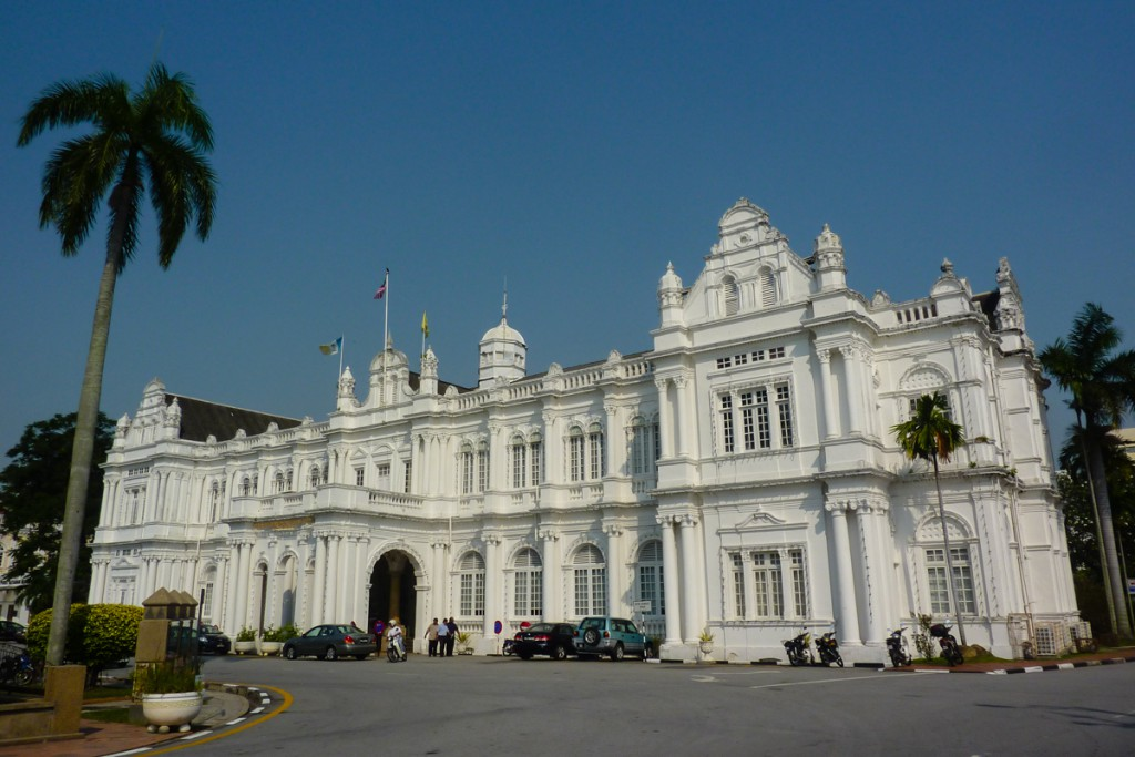 Georgetown auf Penang in Malaysia