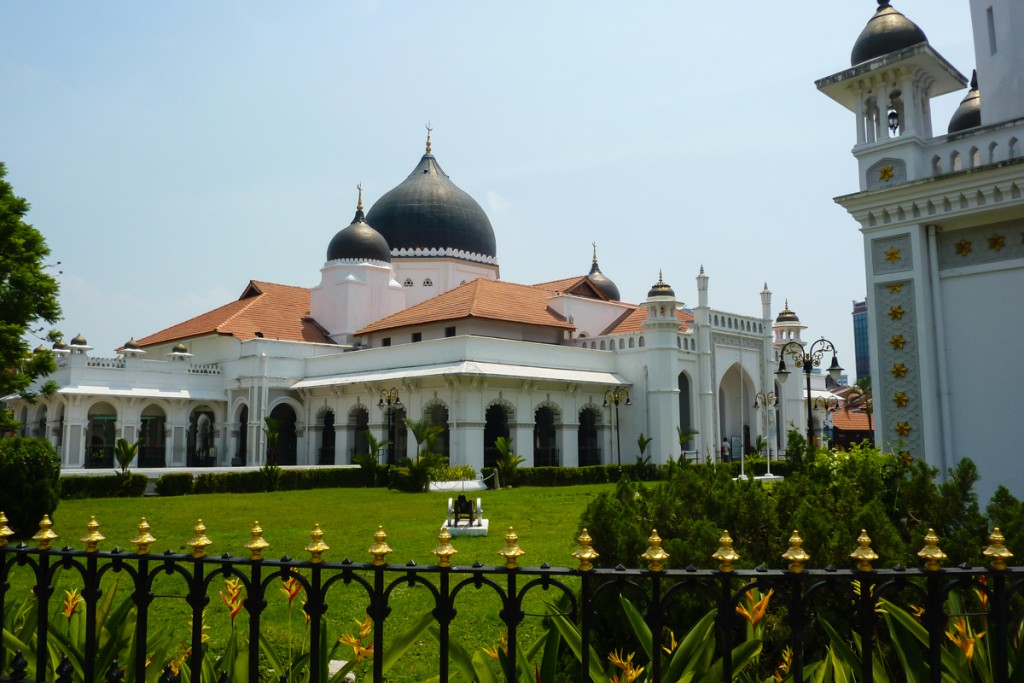 Kapitan Keling Moschee in George Town, Malaysia