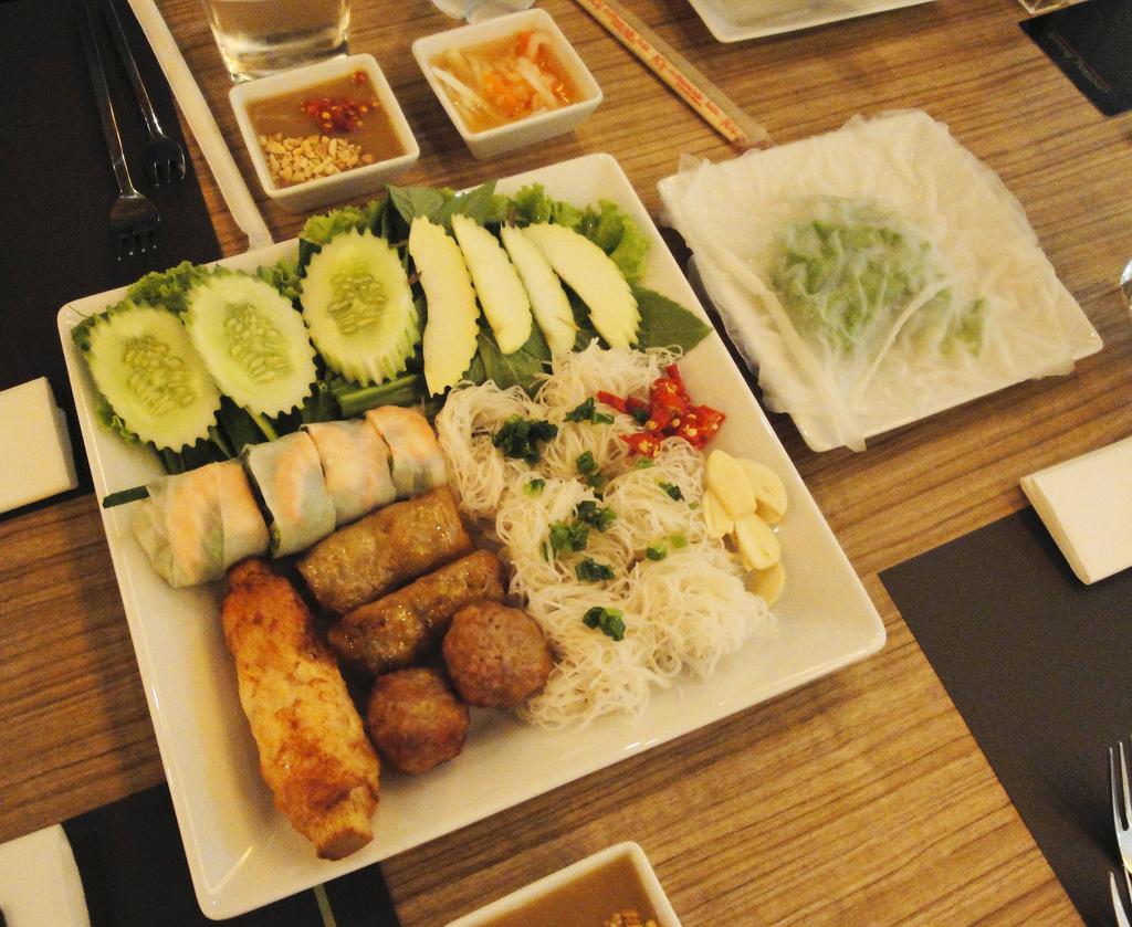 Krankenhaus in Bangkok: leckeres Essen