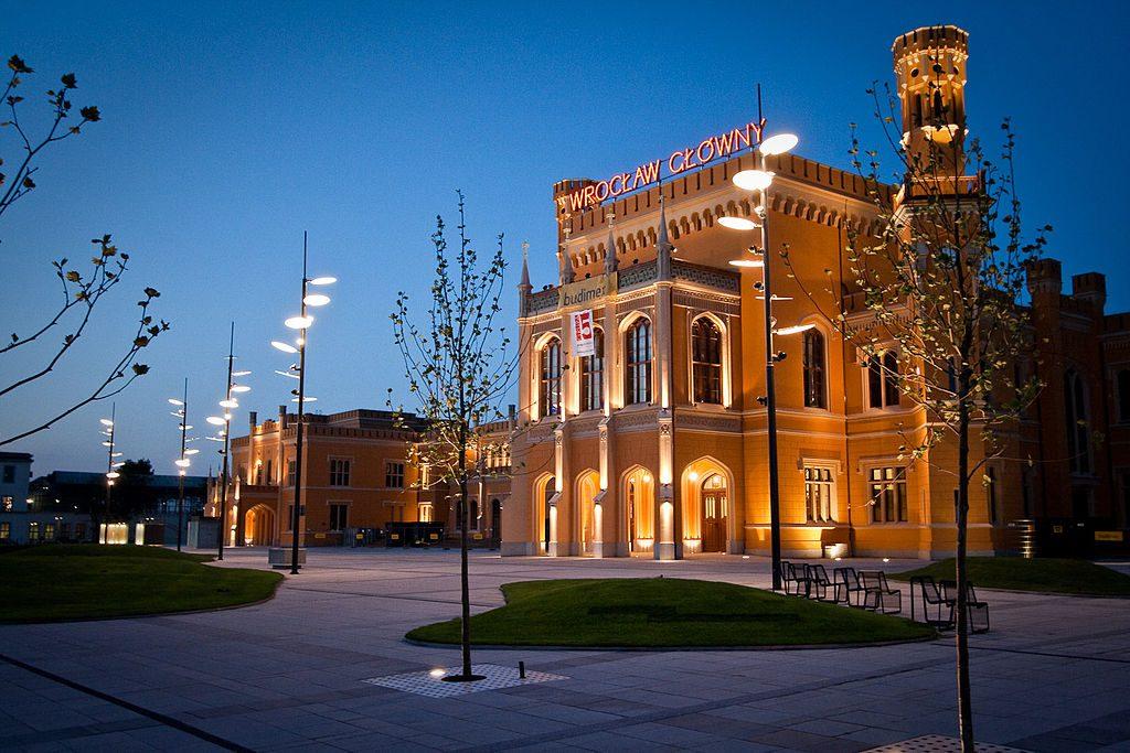 Hauptbahnhof in Breslau