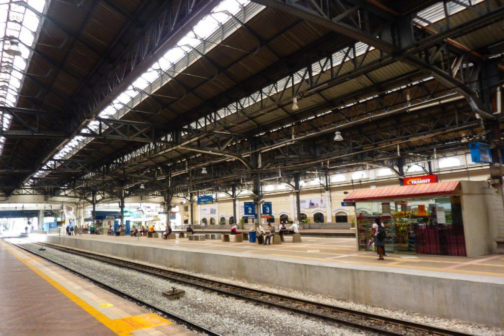 Bahnhof in Kuala Lumpur, Malaysia