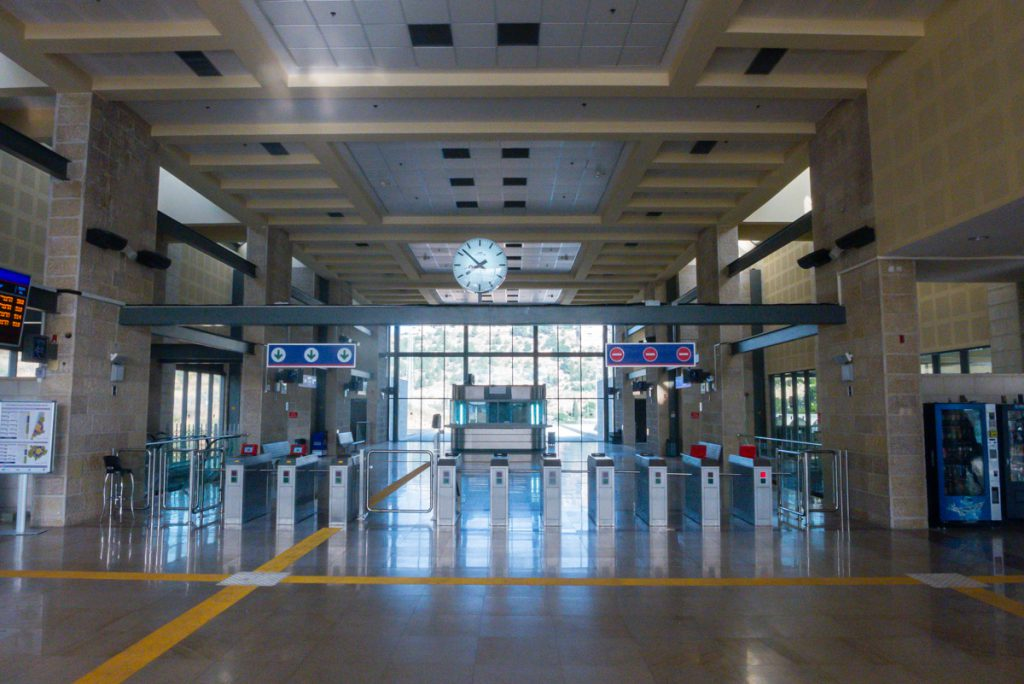 Bahnhof in Israel