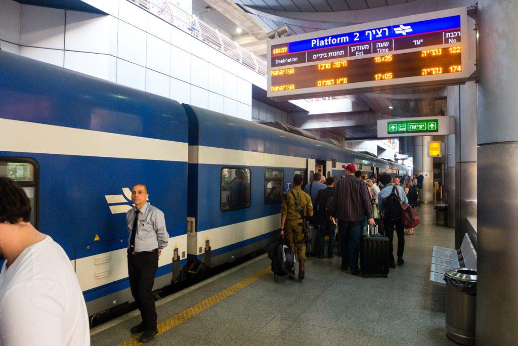 Bahnhof Flughafen Ben Gurion Israel