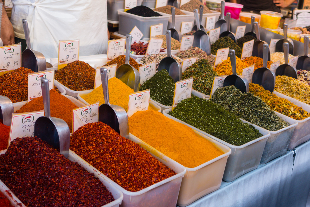 Markt in Israel