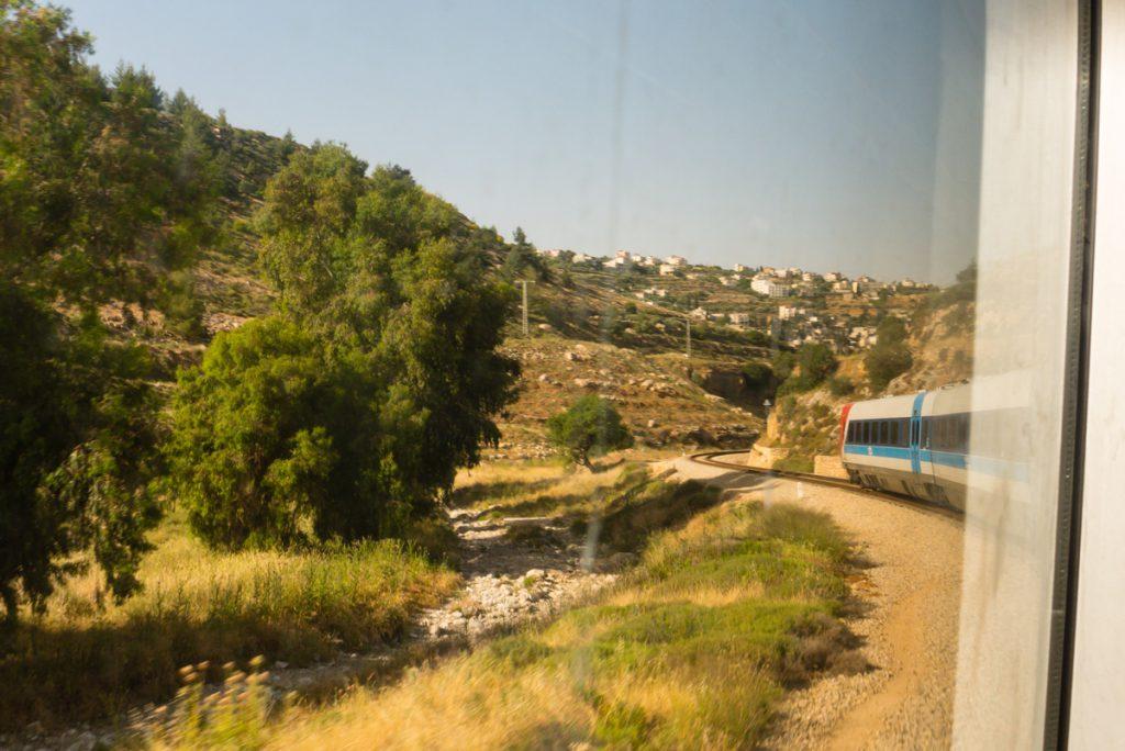 Zug von Tel Aviv nach Jerusalem