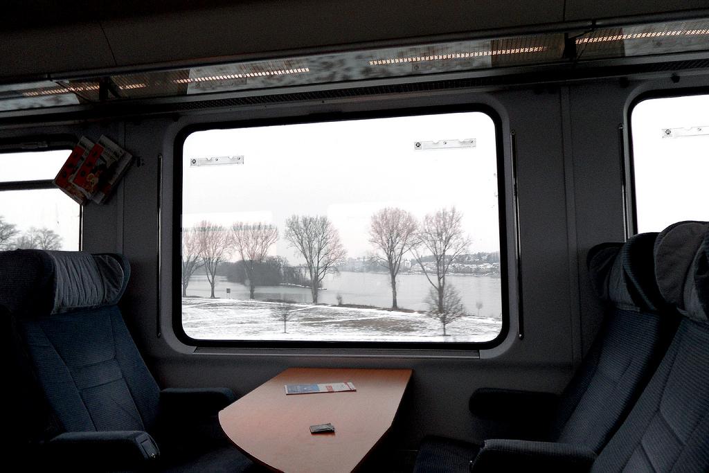Sitzplatz im Zug