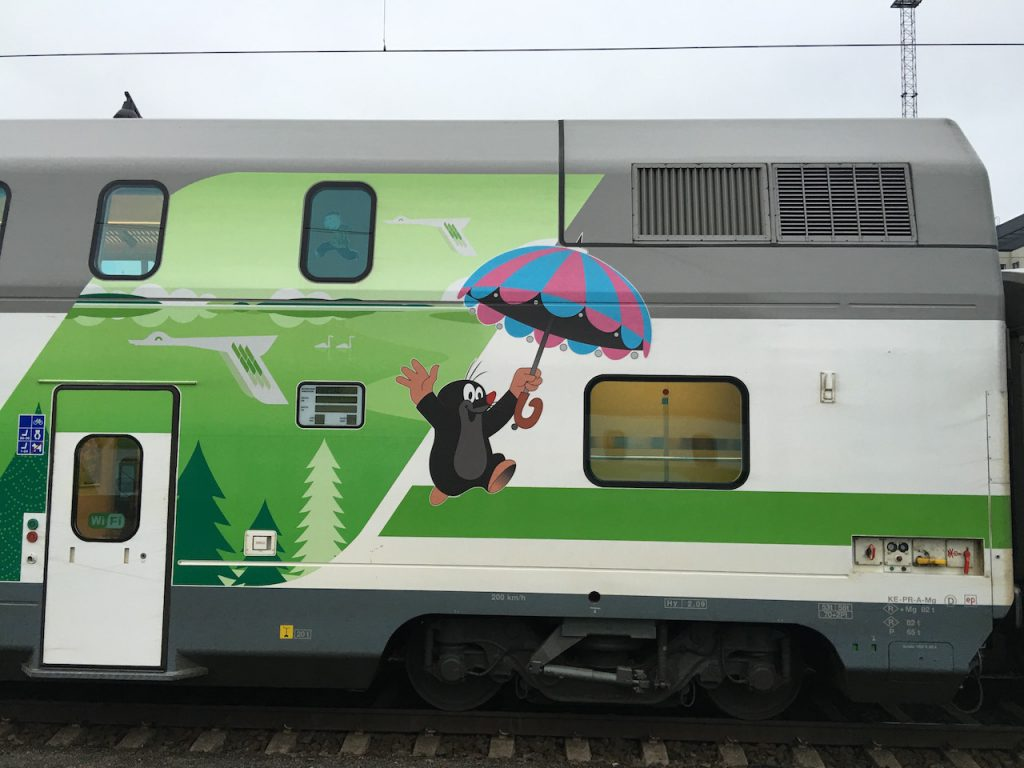 Bahn Finnland