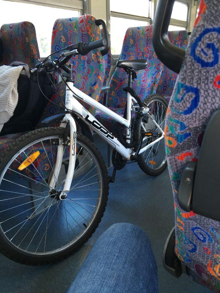 Fahrradmitnahme Lettland