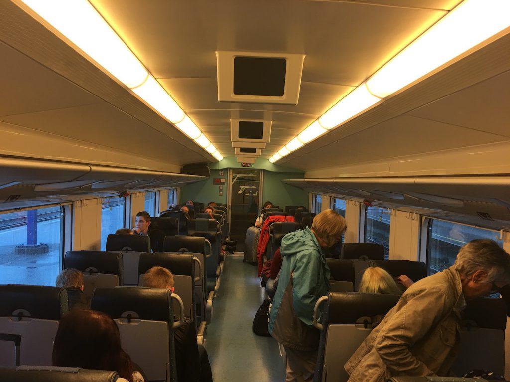 Finnland Intercity Zweite Klasse