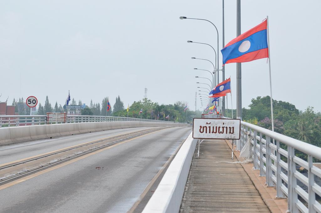 Freundschaftsbrücke Thailand Laos
