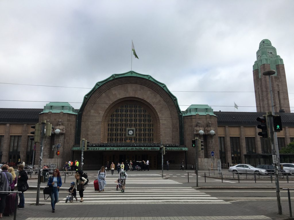 Helsinki Bahnhof Finnland