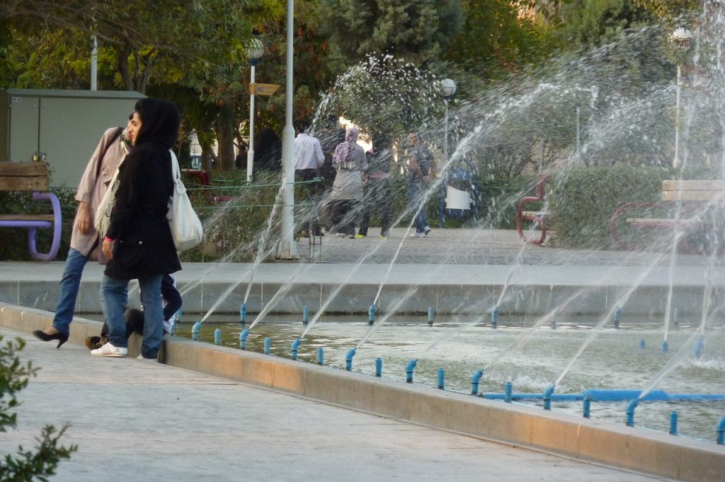 Iran Frau Allein