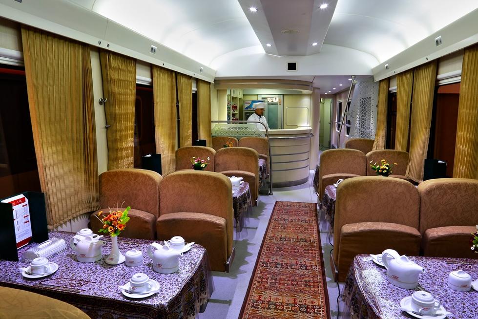 Speisewagen Iran