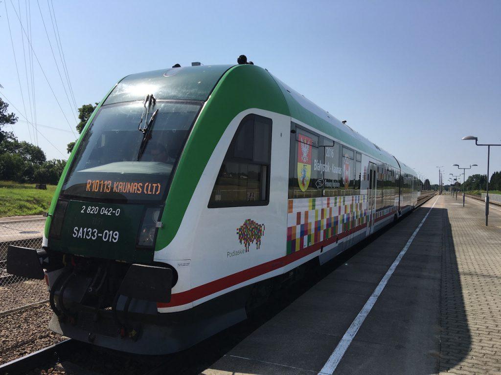Mit Der Bahn Nach Litauen Neuer Zug Von Warschau Nach Vilnius
