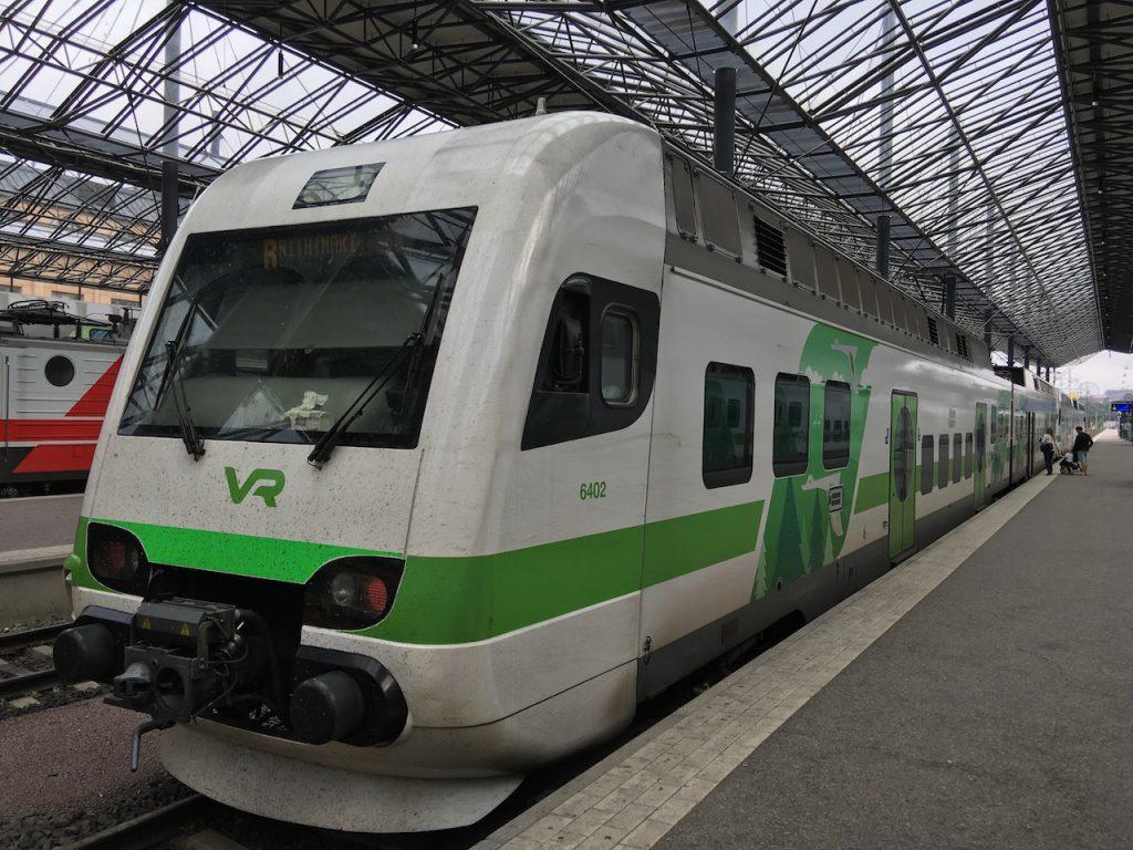 Zug Finnland